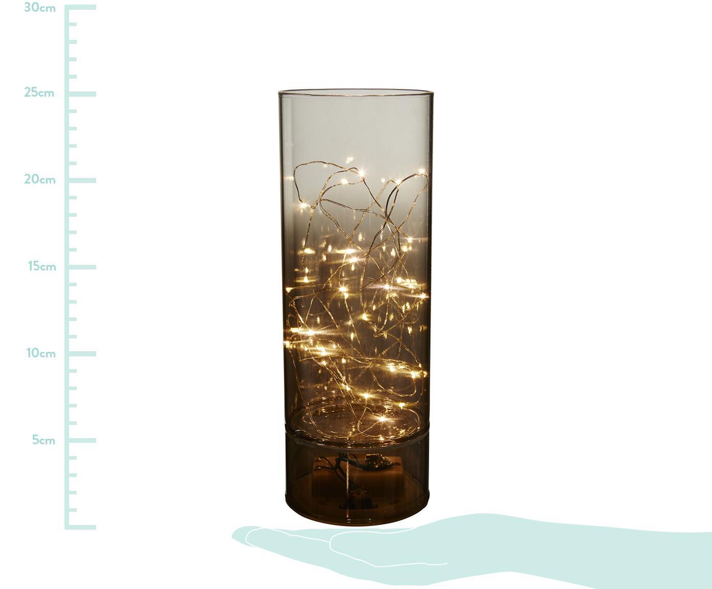 Lampa dekoracyjna Mirror Tube, Szary, Ø 9 x W 25 cm