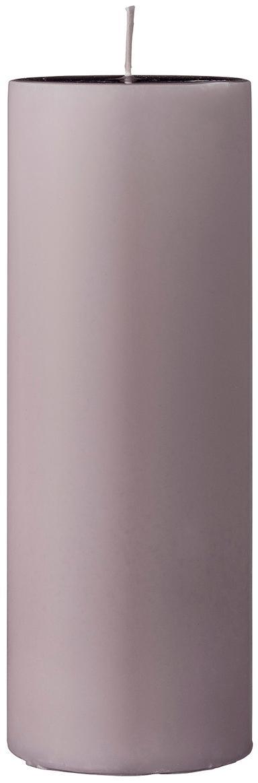 Stumpenkerze Lulu, Wachs, Rosa, Ø 7 x H 20 cm