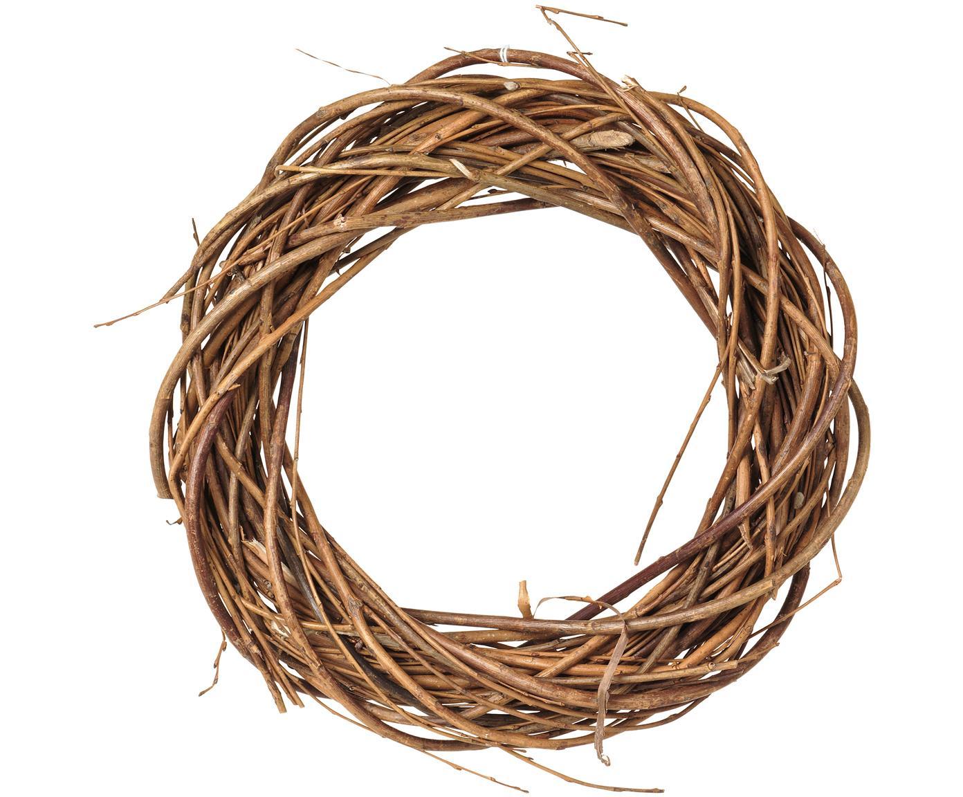 Kranz Esra, Weide, Braun, Ø 25 x H 4 cm