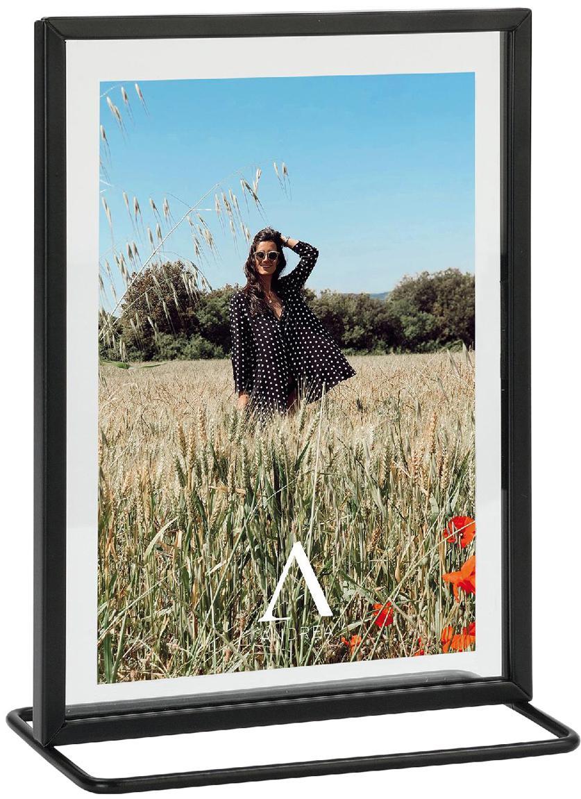 Fotolijstje Memo, Lijst: gecoat metaal, Zwart, 13 x 18 cm