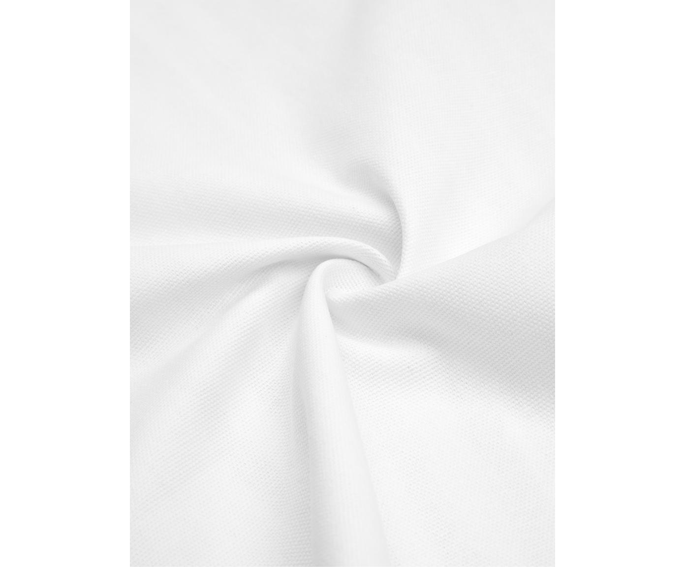 Poszewka na poduszkę Mia, Bawełna, Czarny, biały, S 40 x D 40 cm