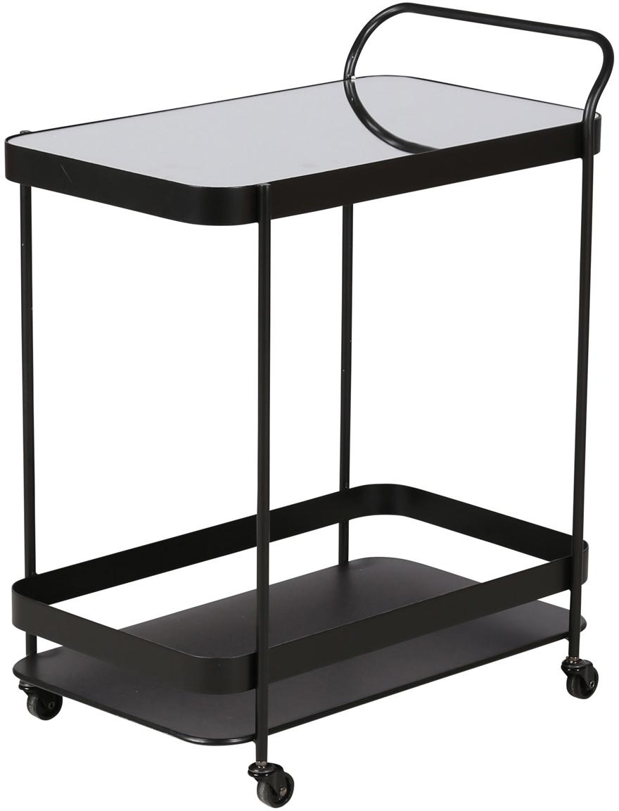 Camarera Joya, Estructura: metal recubierto, Negro, An 63 x Al 76 cm