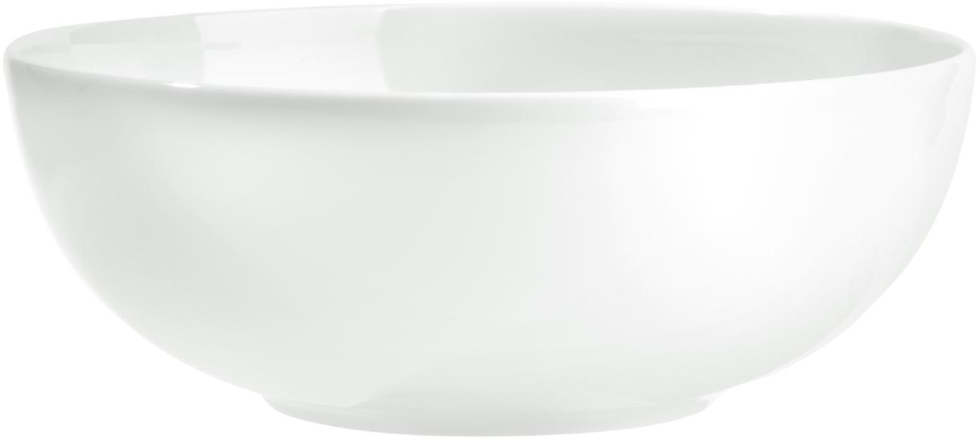 Salatschüssel Puro, Porzellan, Weiß, Ø 25 x H 10 cm