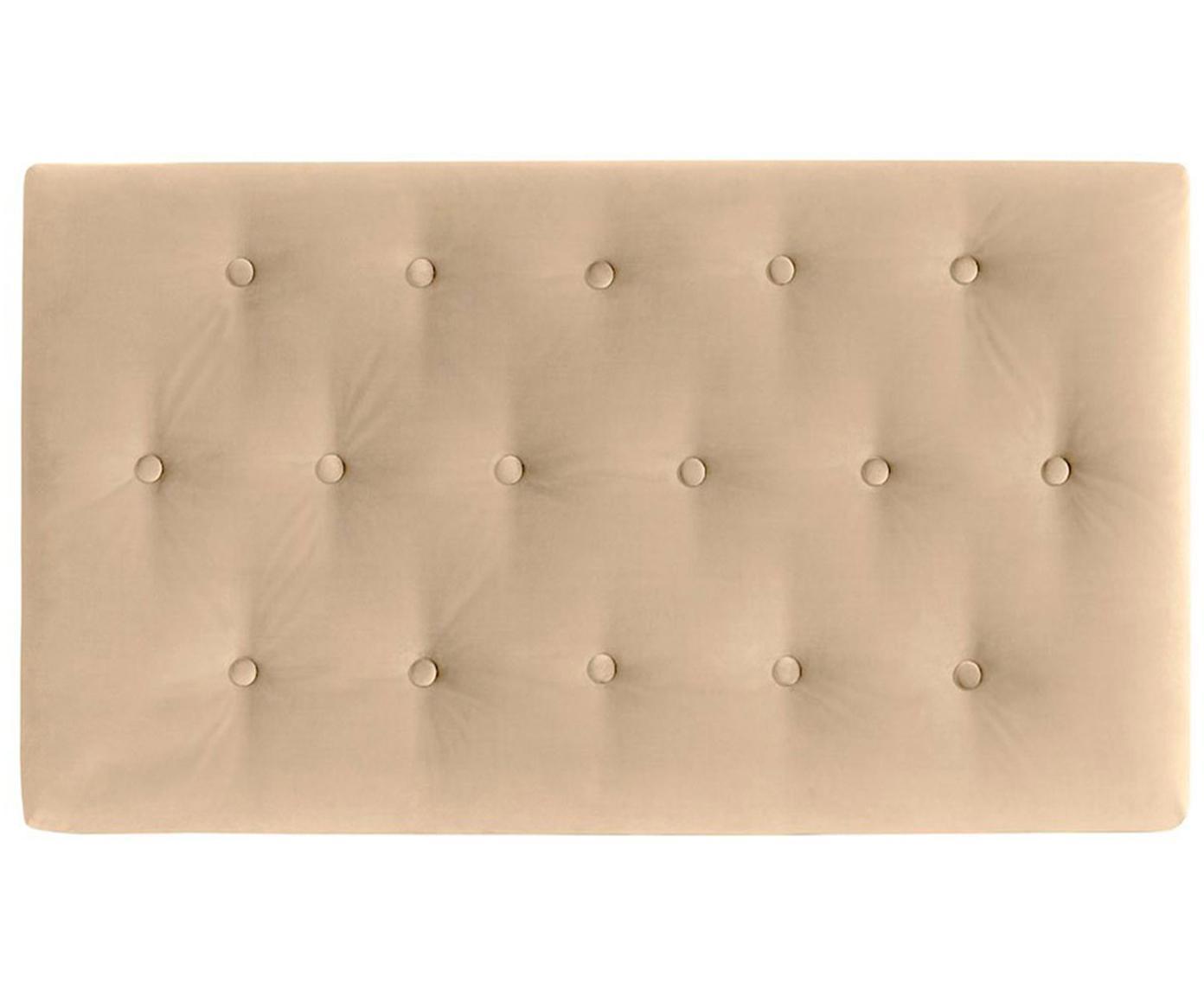 Cabecero Paris Dot, Estructura: tablero de fibras de dens, Tapizado: 100%poliéster efecto ter, Interior: guata doble 500g (100%p, Beige, An 135 x Al 80 cm
