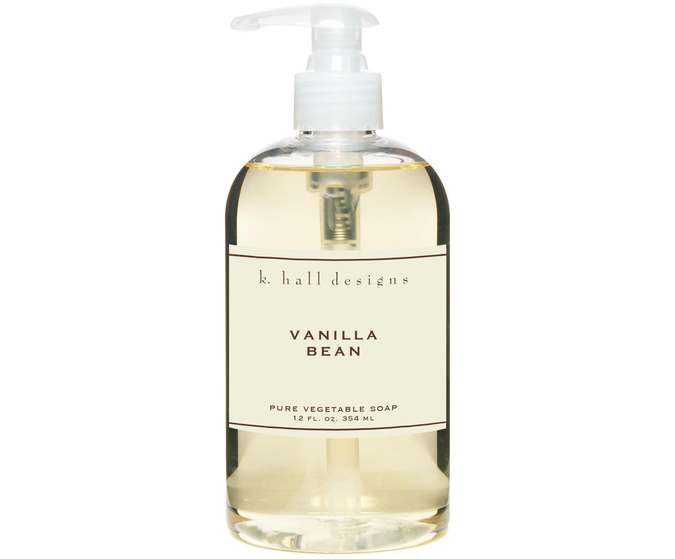 Mydło do rąk w płynie Vanilla Bean (wanilia & tonkowiec wonny), Transparentny, Ø 7 x W 16 cm