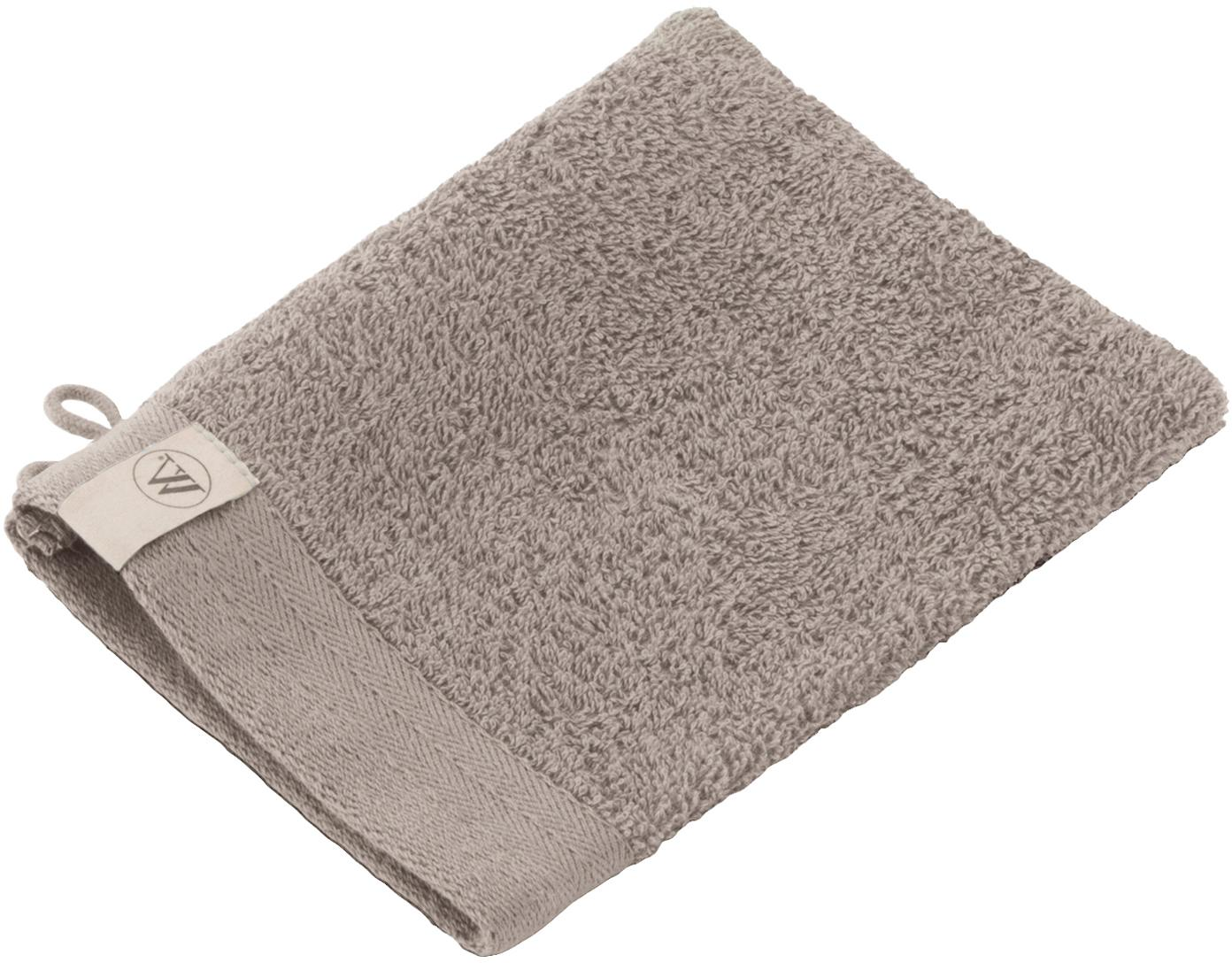 Washandjes Soft Cotton, 2 stuks, Katoen, middelzware kwaliteit, 550 g/m², Taupe, 16 x 21 cm