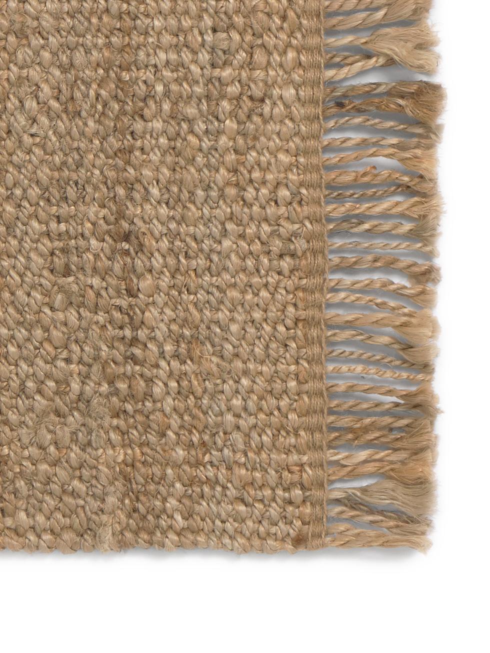 Vloerkleed Cadiz, Jute, Jutekleurig, B 150 x L 200 cm (maat S)