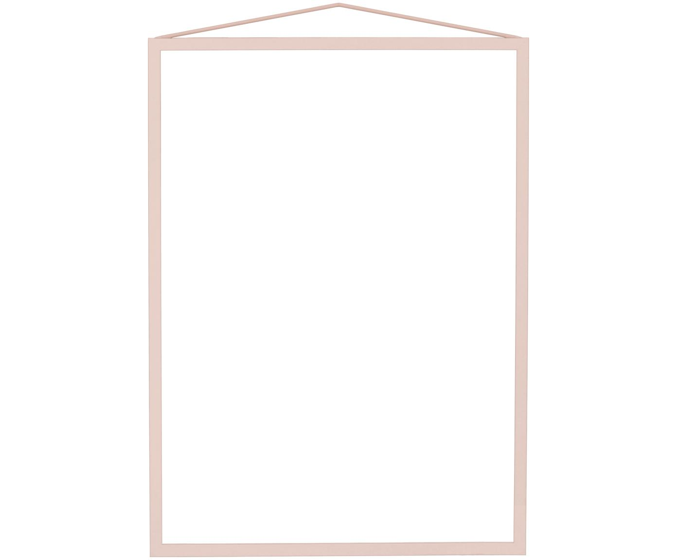Cornice Colour Frame, Cornice: acciaio, verniciato a pol, Rosa, 30 x 42 cm