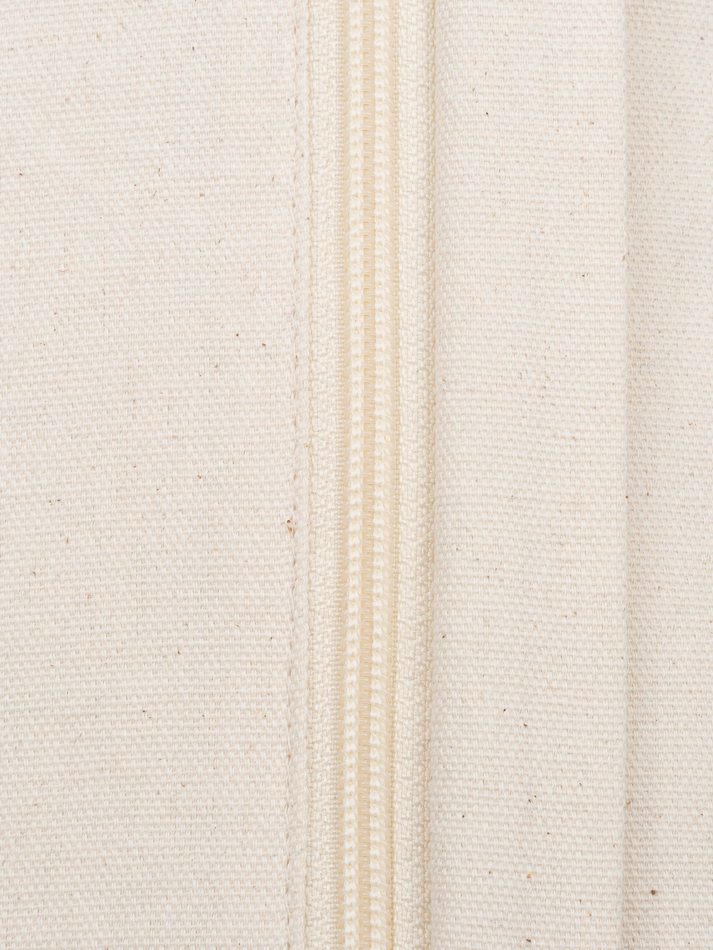 Handgemachtes Kissen Aztec im Boho Style, mit Inlett, Hülle: 100% Baumwolle, Braun, Dunkelblau, Creme, 40 x 60 cm