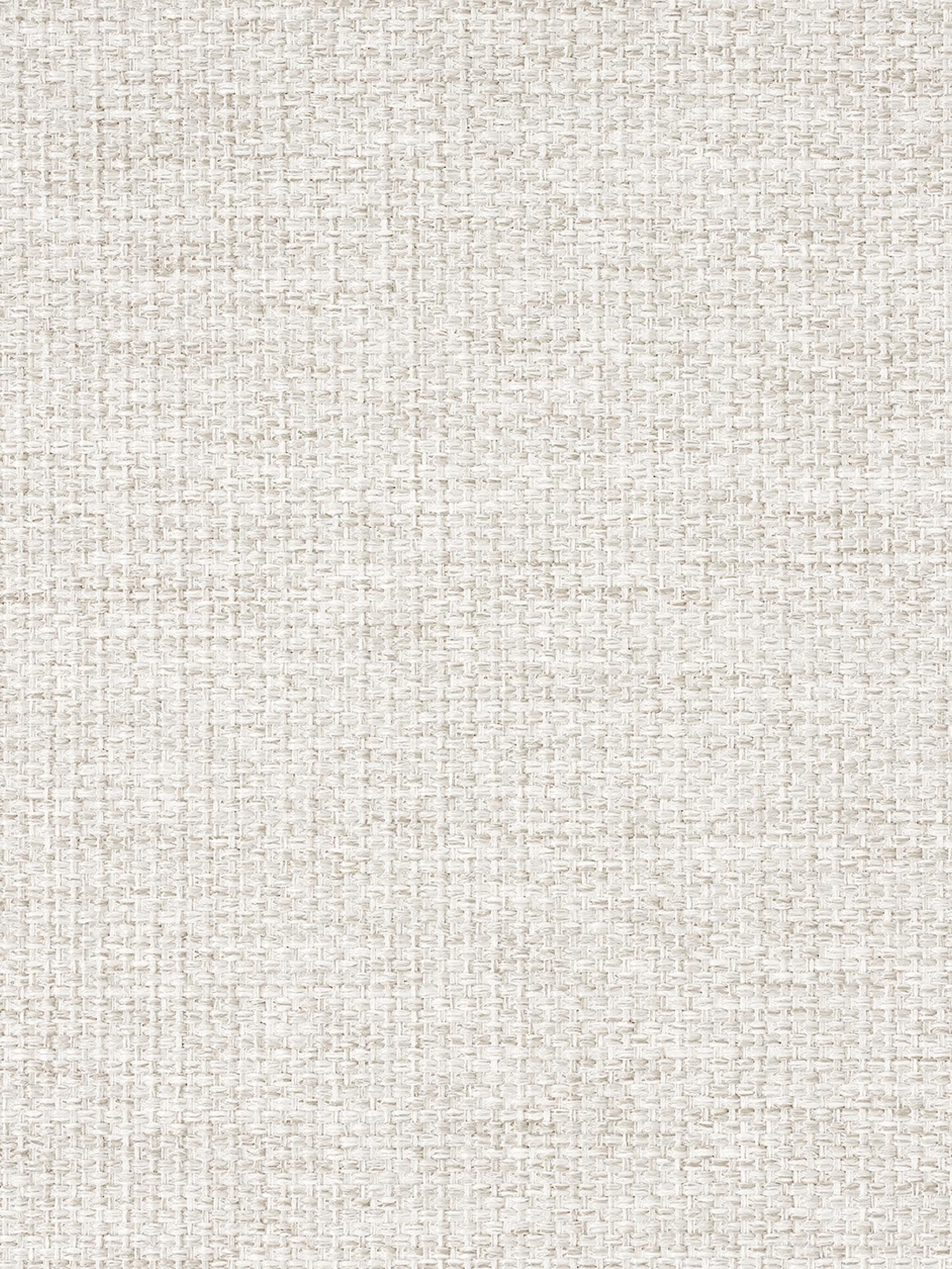 Ecksofa Emma, Bezug: Polyester 100.000 Scheuer, Gestell: Massives Kiefernholz, Füße: Metall, pulverbeschichtet, Webstoff Cremeweiß, Füße Schwarz, B 302 x T 220 cm