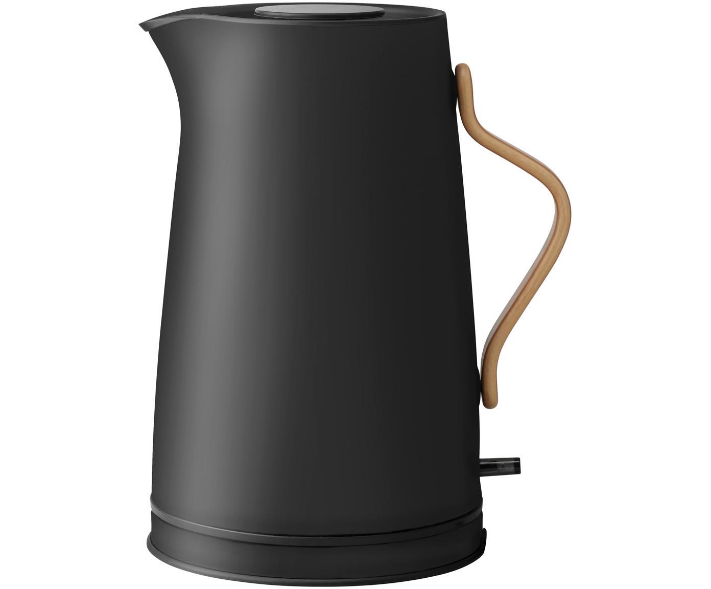 Czajnik elektryczny Emma czarny matowy, czarny matowy, Średnica: 20 cm