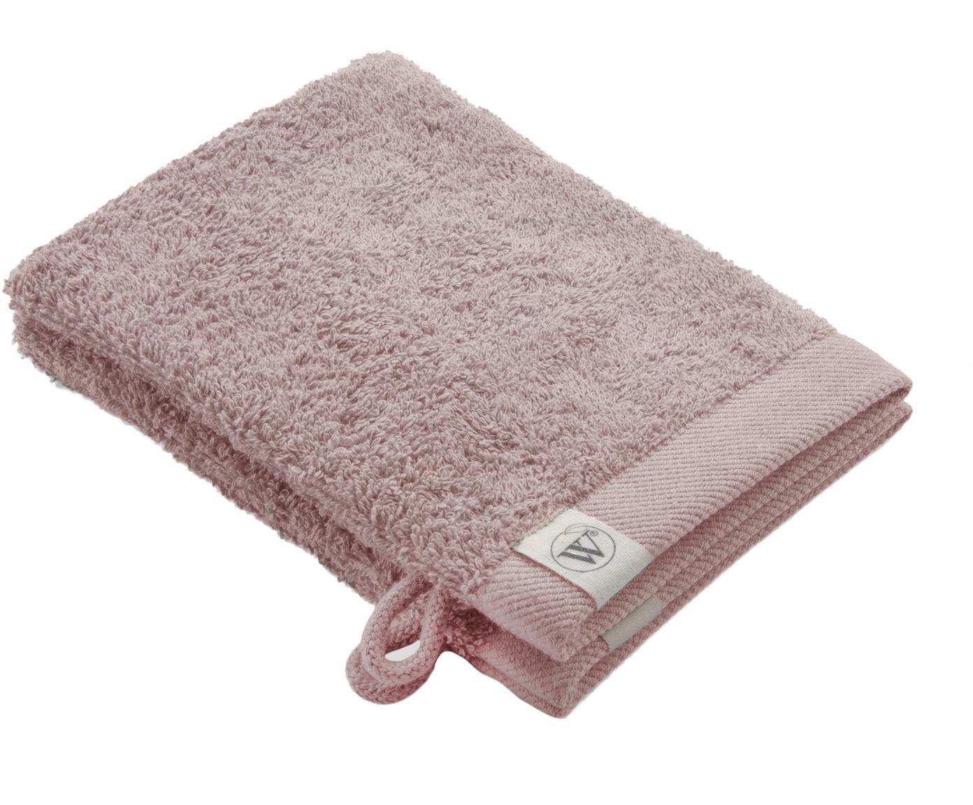 Guanto spugna da doccia/bagno Blend 2 pz, 65% cotone riciclato, 35% poliestere riciclato, Rosa cipria, Larg. 16 x Lung. 21 cm