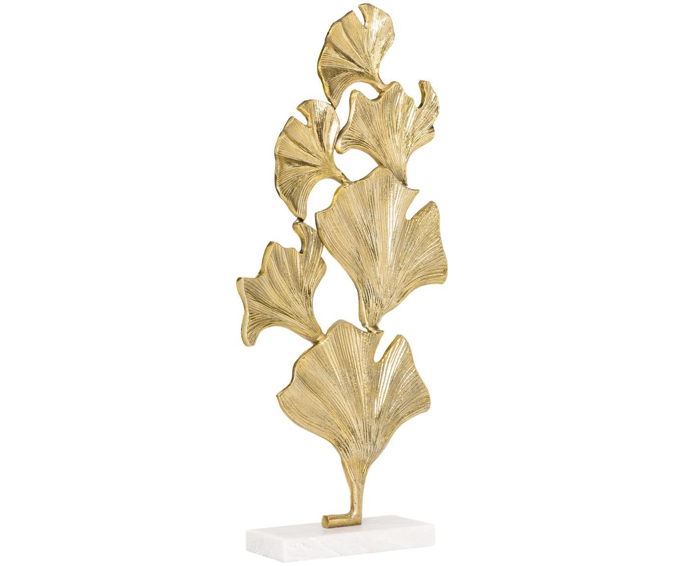 Pieza decorativa Duke, Figura: aluminio, recubierto, Dorado, An 35 x Al 70 cm