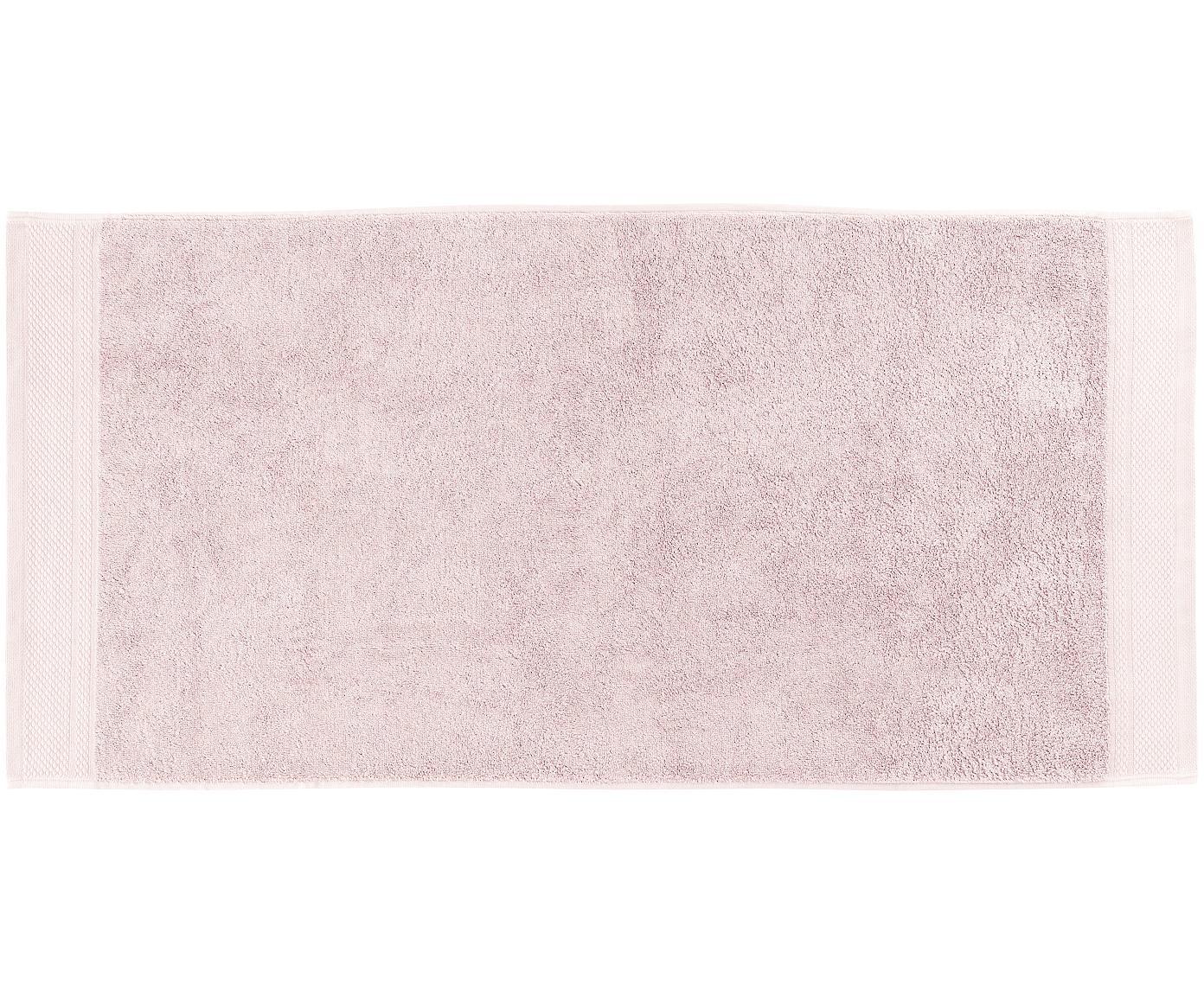 Handtuch Premium in verschiedenen Größen, mit klassischer Zierbordüre, Altrosa, Handtuch