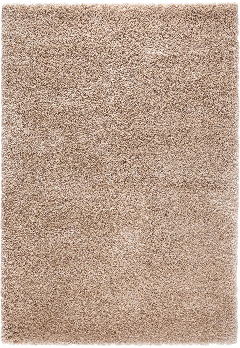 Tappeto a pelo lungo marrone Venice, Retro: juta, Marrone, Larg. 120 x Lung. 170 cm (taglia S)