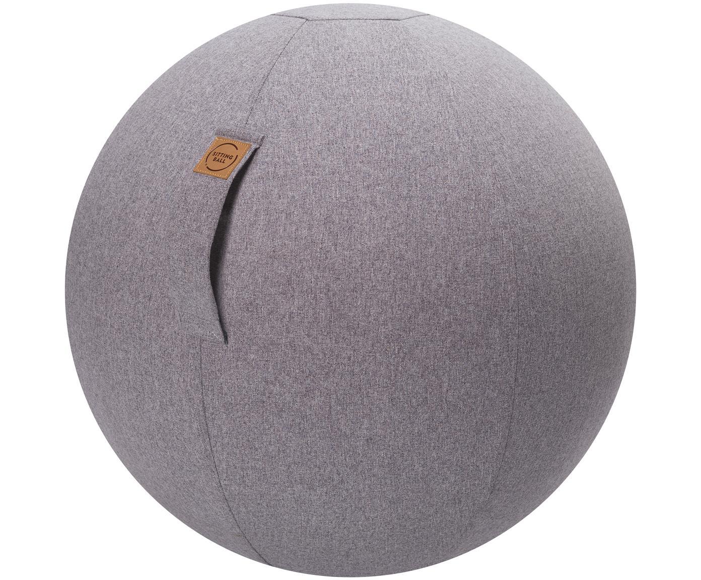 Zitbal Felt, Bekleding: polyester (imitatievilt), Lichtgrijs, Ø 65 cm