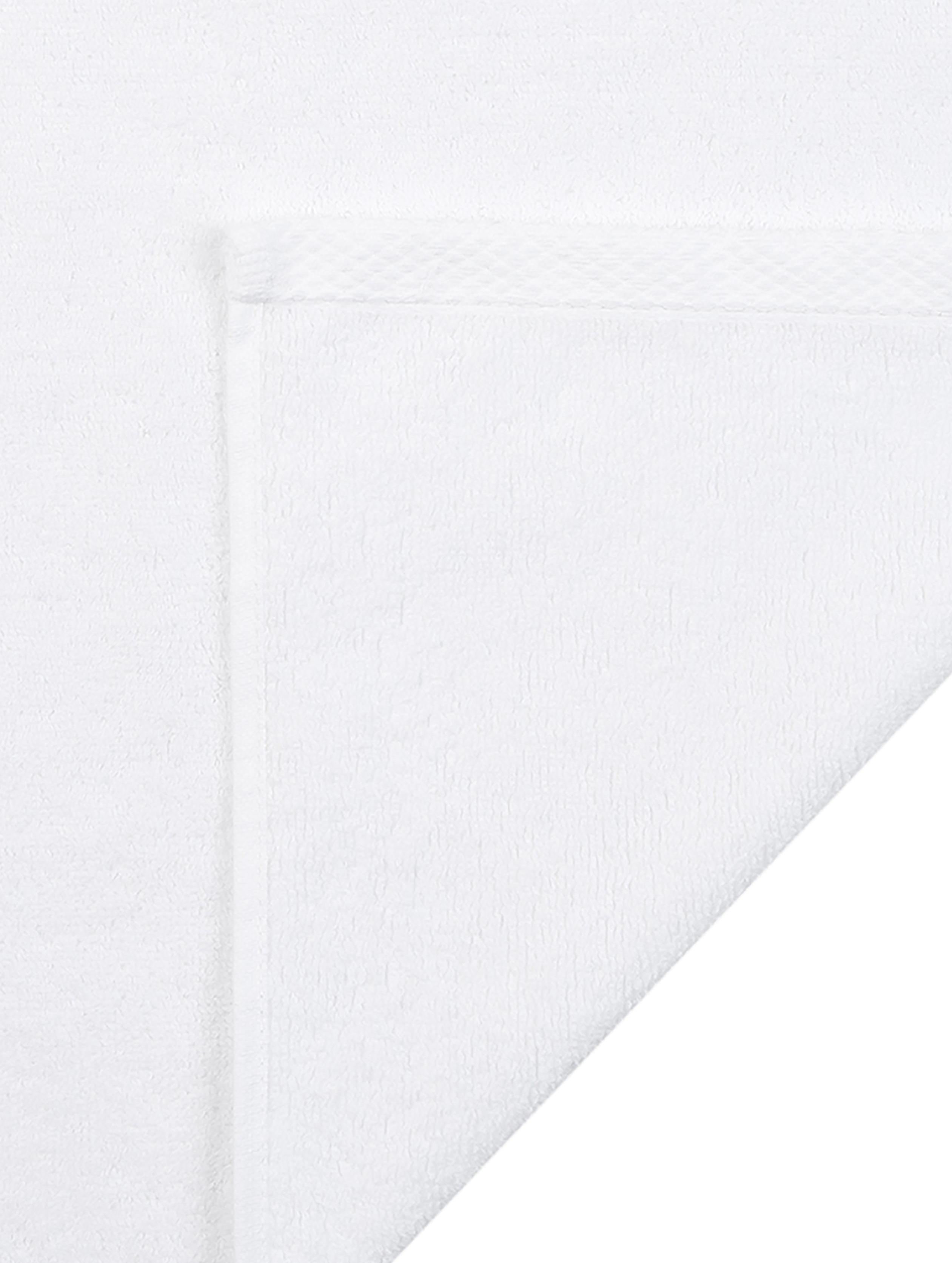 Einfarbiges Handtuch-Set Comfort, 3-tlg., Weiss, Verschiedene Grössen
