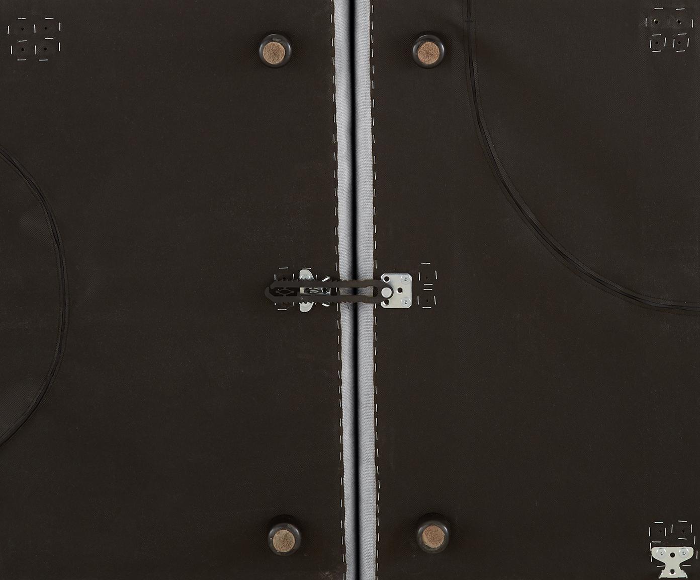 Modulare Ottomane Lennon, Bezug: Polyester Der hochwertige, Gestell: Massives Kiefernholz, Spe, Füße: Kunststoff, Webstoff Hellgrau, B 269 x T 119 cm