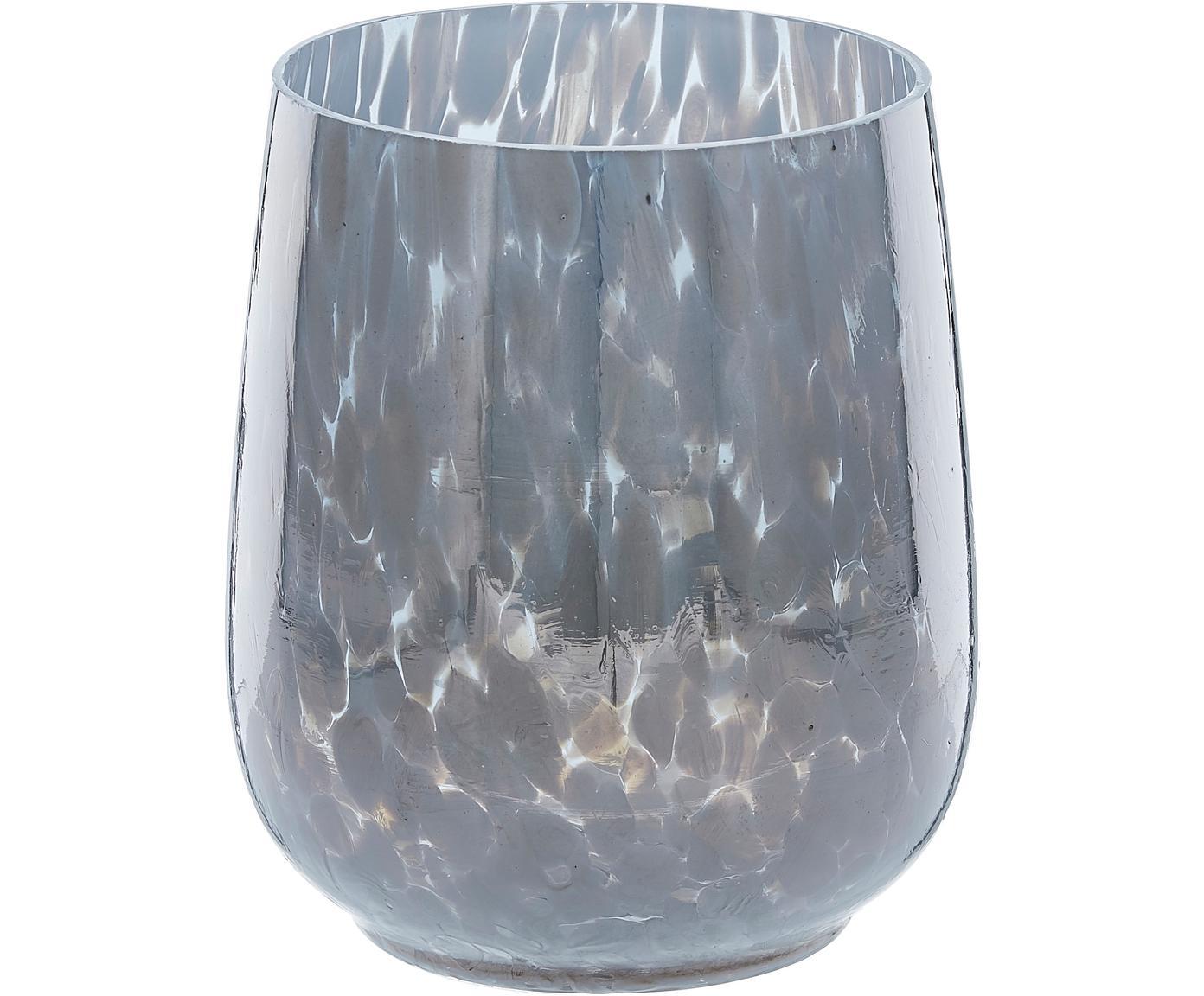 Portacandela in vetro Gunia, Vetro, Marrone scuro, Ø 10 x Alt. 12 cm