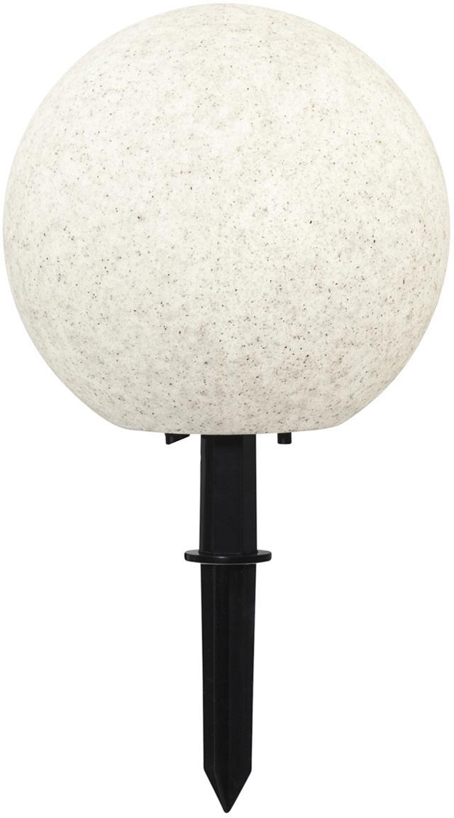 Zewnętrzna lampa LED Gardenlight, Tworzywo sztuczne, Biały, czarny, Ø 29 x W 30 cm