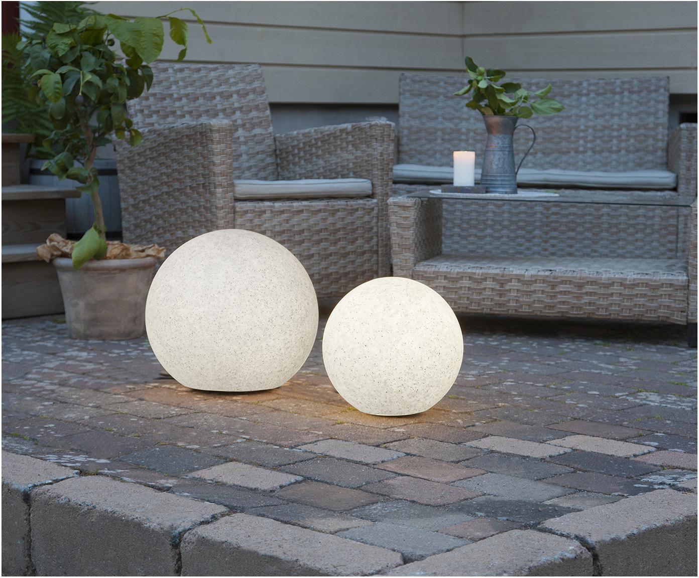 Lampada a LED da esterno Gardenlight, Materiale sintetico, Bianco, nero, Ø 29 x Alt. 30 cm