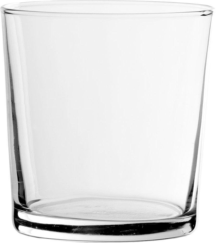 Vasos clásicos Simple, 6 uds., Vidrio, Transparente, 370 ml