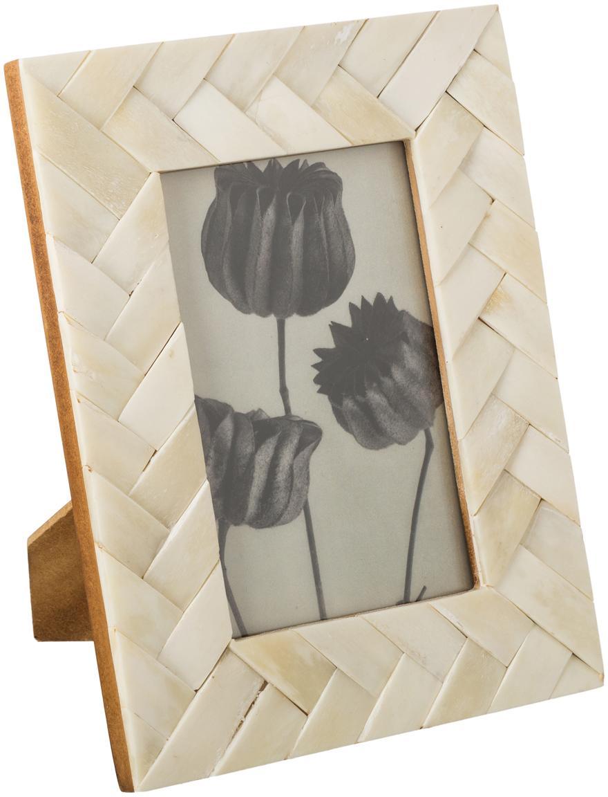 Ramka na zdjęcia Balou, Odcienie kości słoniowej, 10 x 10 cm