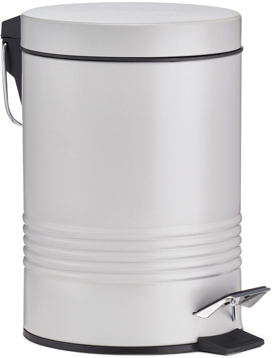 Abfalleimer Sam mit Pedal-Funktion, Grau, Ø 16 x H 25 cm