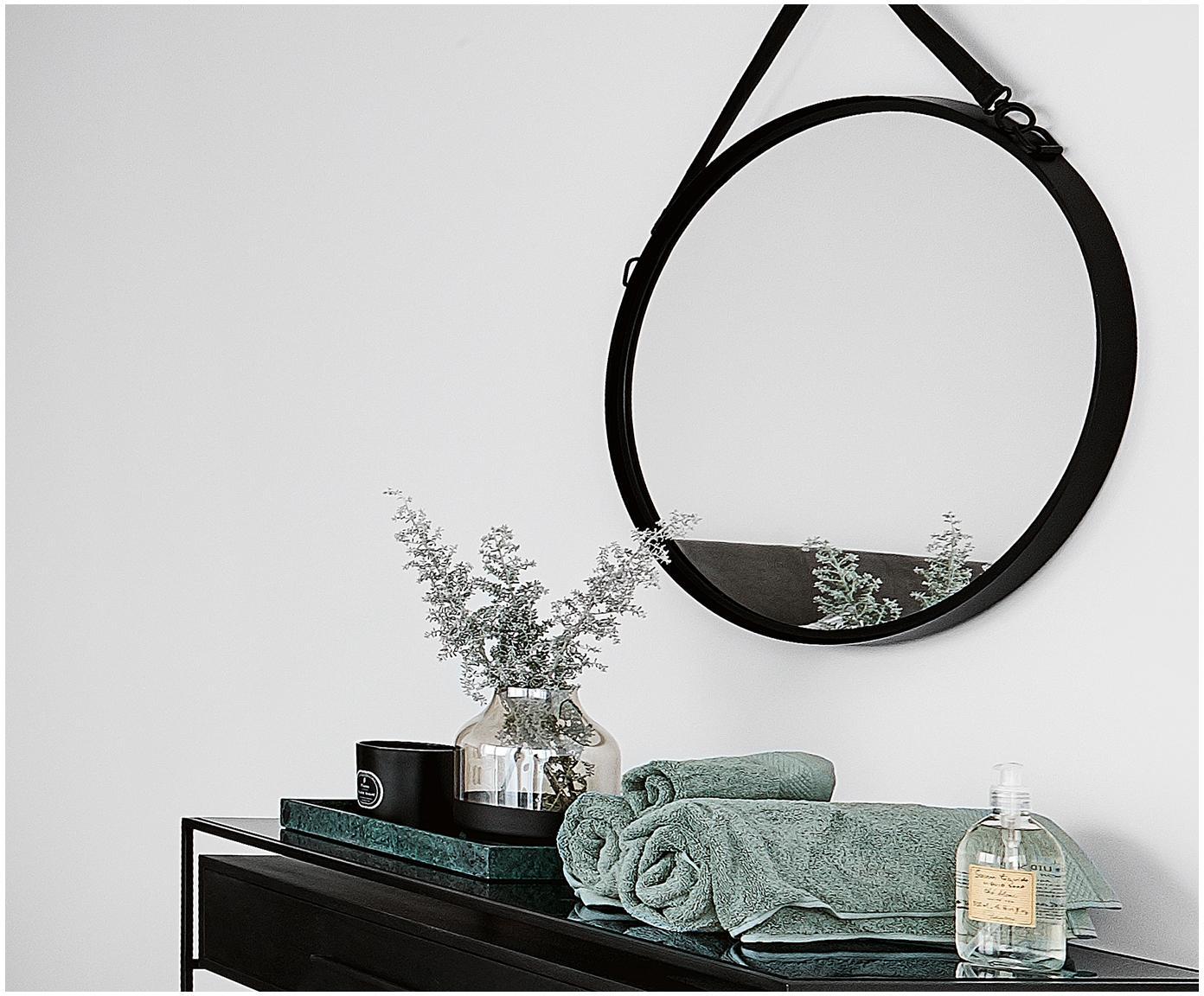 Handtuch Premium in verschiedenen Grössen, mit klassischer Zierbordüre, Salbeigrün, XS Gästehandtuch