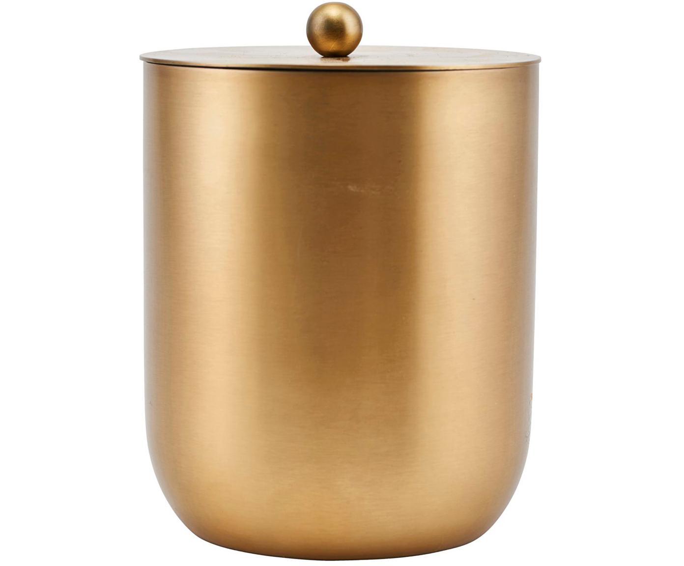Eiseimer Alir in Gold, Edelstahl, Messing, Messingfarben, Ø 12 x 15 cm