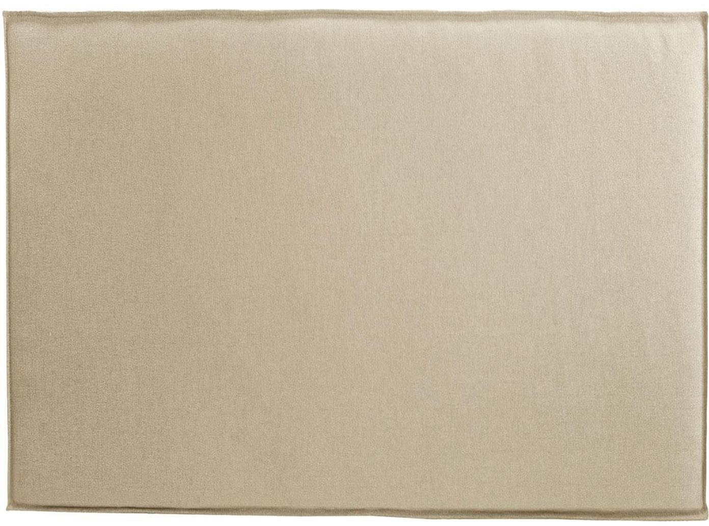 Cabecero Siena, Estructura: madera de pino, madera co, Tapizado: 100%poliéster Alta resis, Beige, An 100 x Al 80 cm