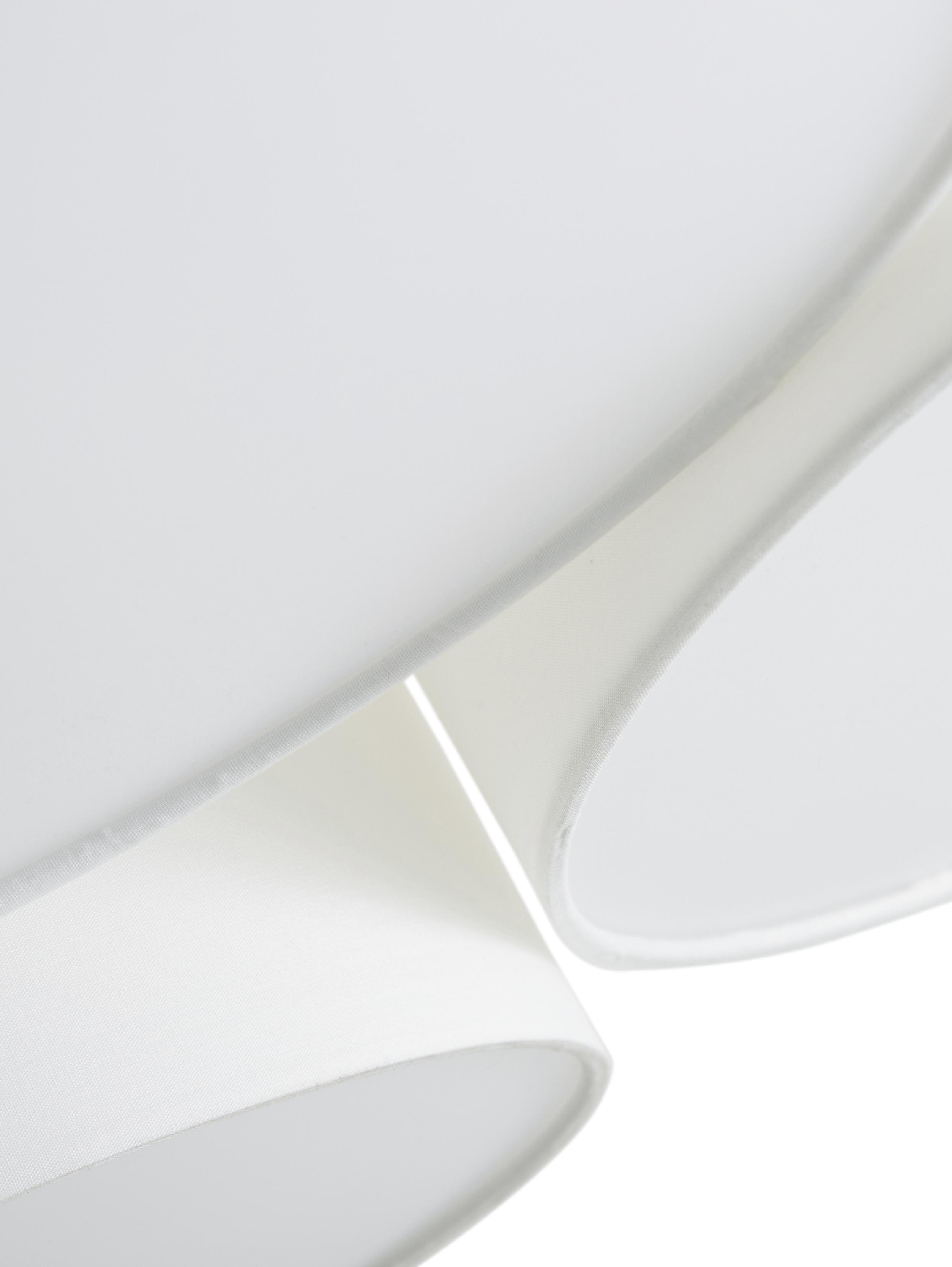 Lampa sufitowa Luke, Biały, ∅ 61 x W 26 cm