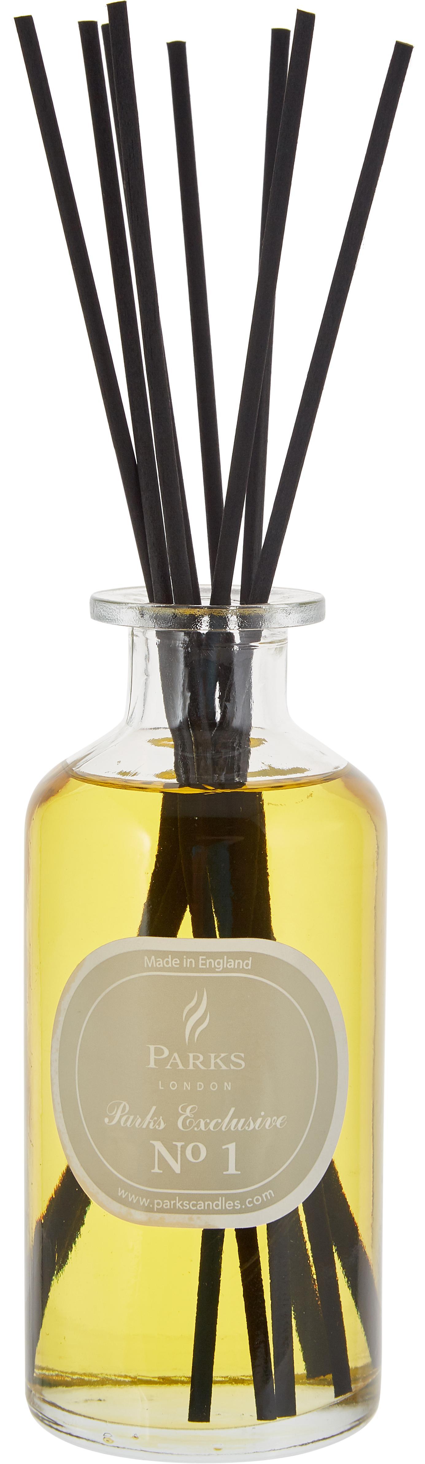 Diffuser Parks Exclusive No.1 (sandelhout & vanille), Transparant, lichtbruin, grijs, 250 ml