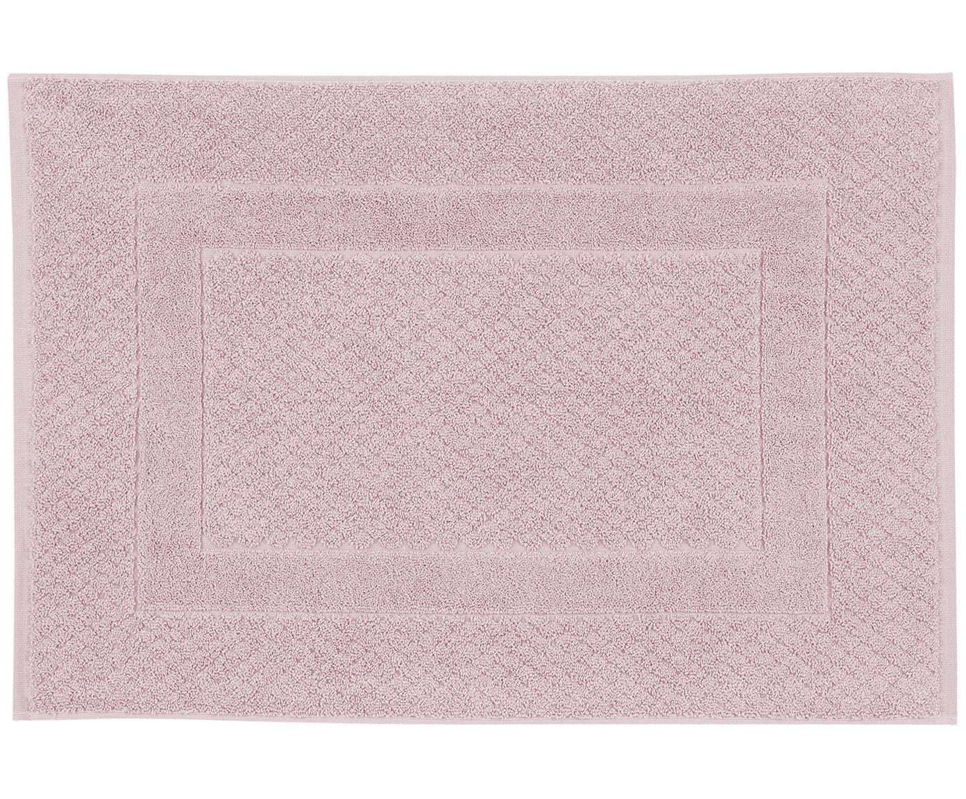Dywanik łazienkowy Katharina, 100% bawełna, wysoka gramatura, 900g/m², Brudny różowy, S 50 x D 70 cm