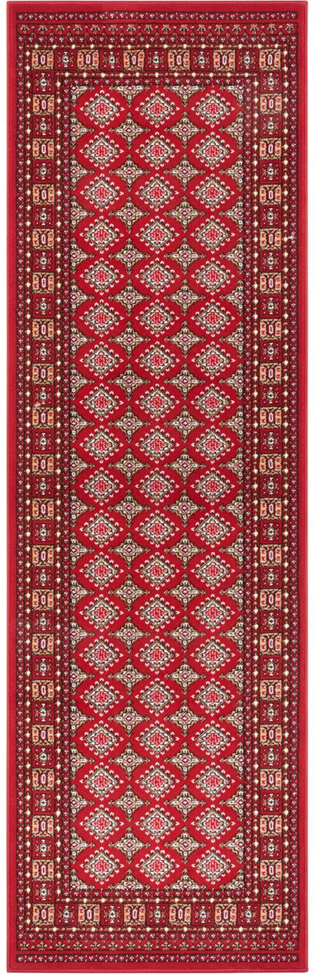 Läufer Sao Buchara im Orient Style, Rot, 80 x 250 cm