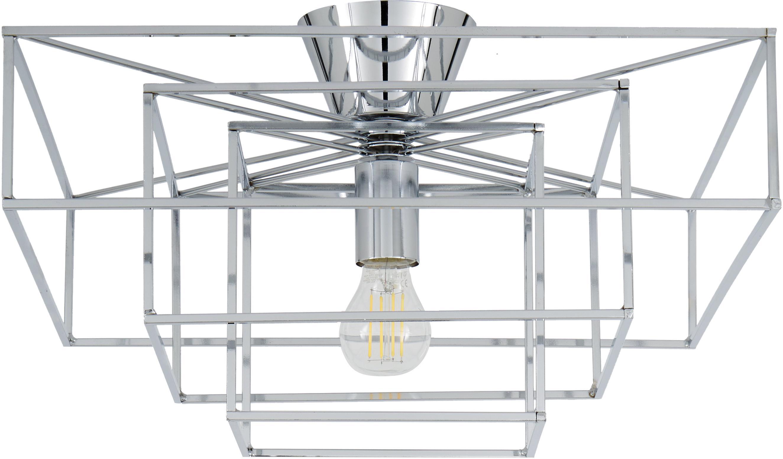 Lampa sufitowa Cube, Chrom, S 46 x W 27 cm