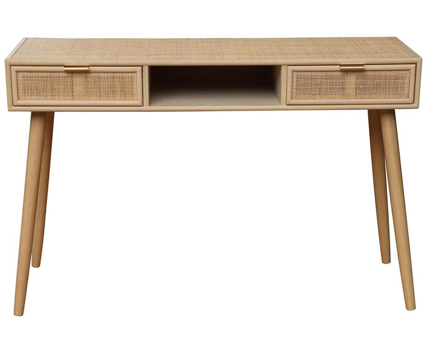 Escritorio Cayetana, Estructura: madera, Beige, An 120 x Al 76 cm