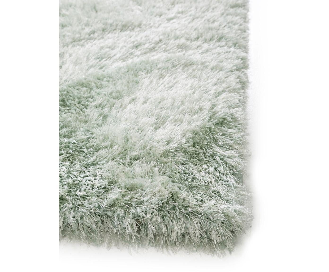 Dywan z wysokim stosem Lea, 50% poliester, 50% polipropylen, Zielony, S 300 x D 400 cm (Rozmiar XL)
