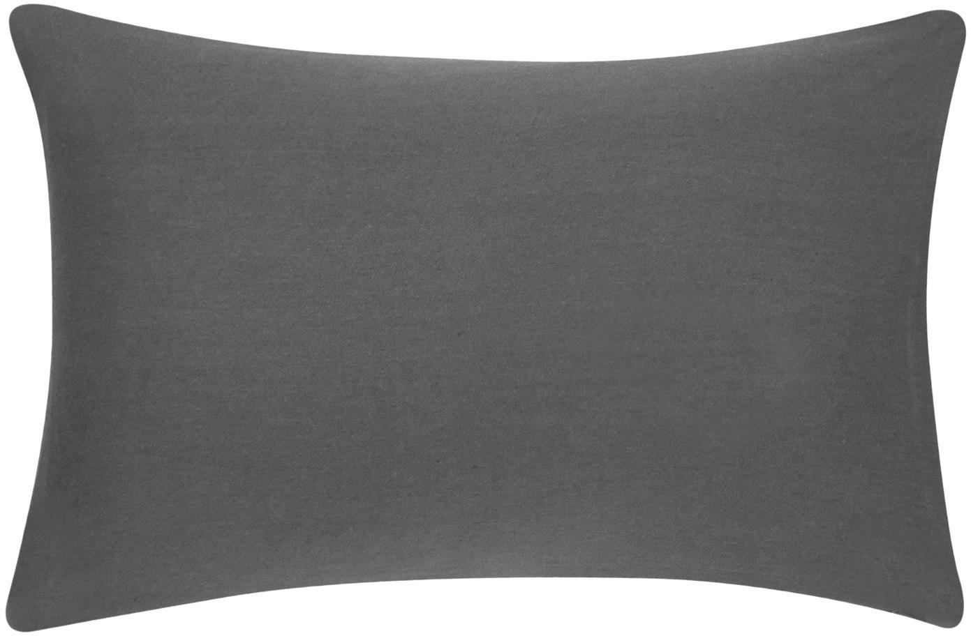 Federa arredo in grigio scuro Mads, 100% cotone, Grigio scuro, Larg. 30 x Lung. 50 cm