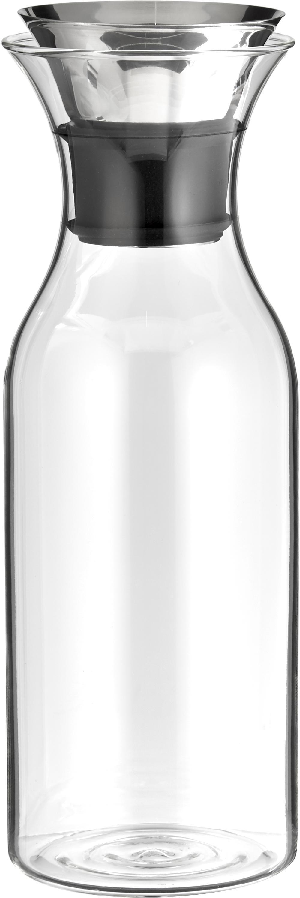Karaf Eva Solo, Deksel: edelstaal, siliconen, Transparant, edelstaalkleurig, 1 l