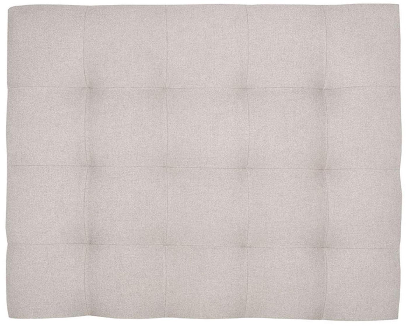 Cabecero de madera de pino Lion, Estructura: madera de pino, madera co, Tapizado: 100%poliéster Alta resis, Blanco crudo, An 100 x Al 80 cm