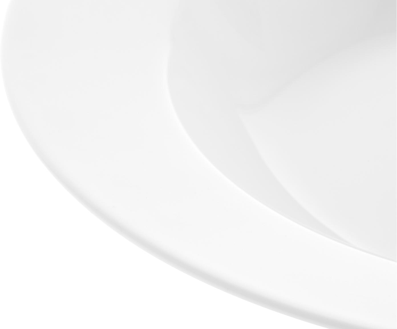 Assiettes creuses en porcelaine Delight Classic, 2pièces, Blanc