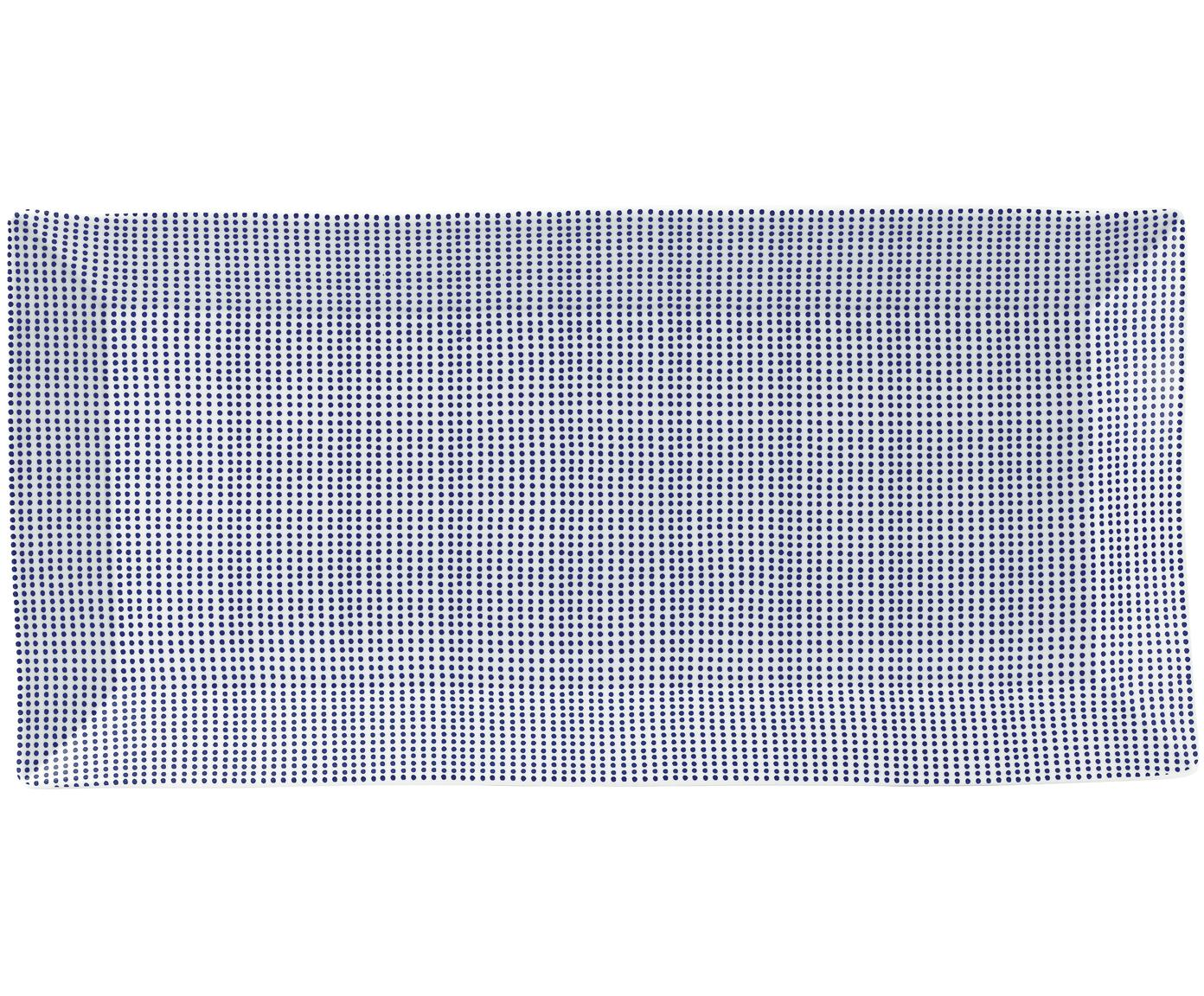 Fuente Pacific, Porcelana, Blanco, azul, L 39 x An 18 cm
