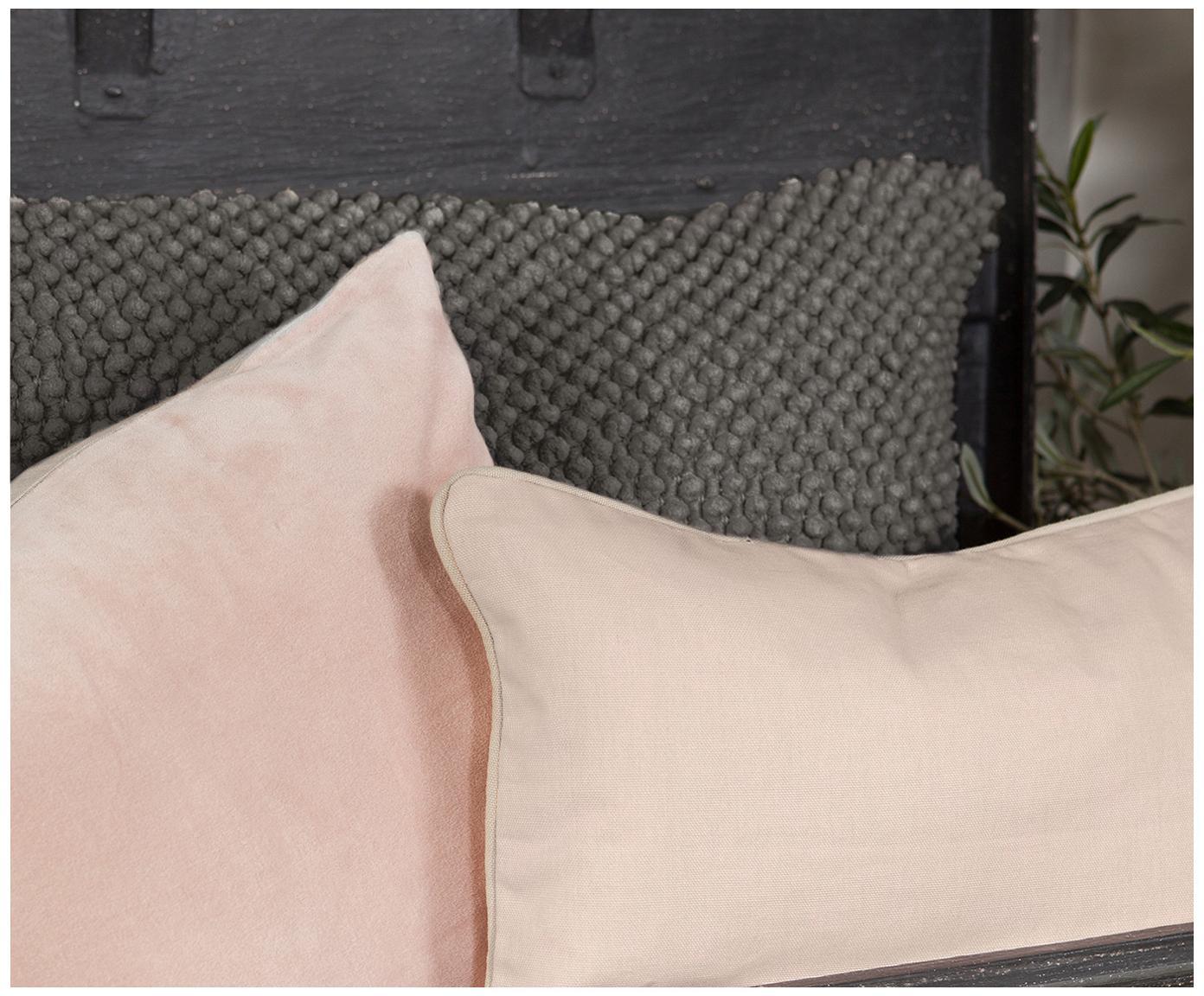 Poduszka z wypełnieniem Indi, Ciemnyszary, S 45 x D 45 cm