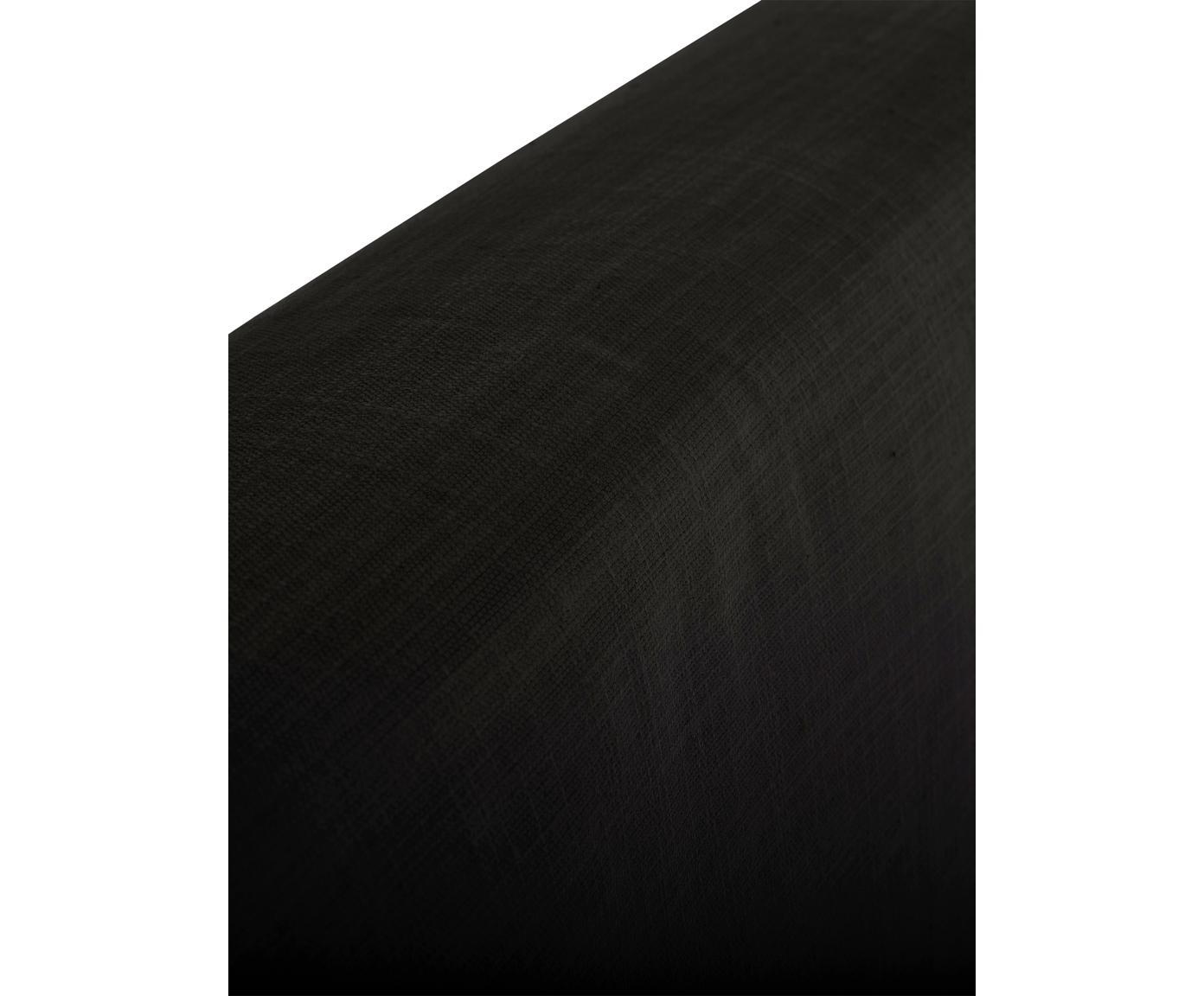 Letto imbottito con contenitore Feather, Rivestimento: Poliestere (tessuto strut, Tessuto antracite, 180 x 200 cm