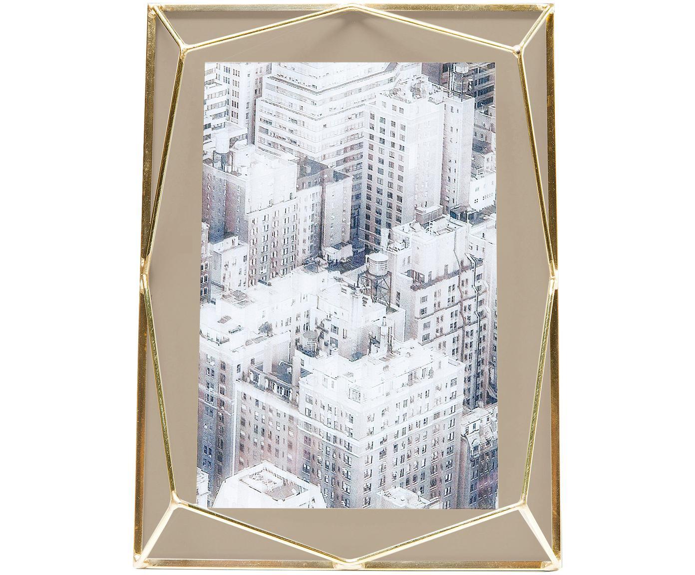 Cornice Art Pastel, Cornice: metallo ottonato placcato, Ottone, beige, 10 x 15 cm