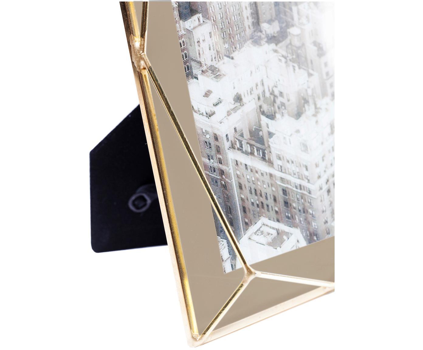 Ramka na zdjęcia Art Pastel, Mosiądz, beżowy, 10 x 15 cm