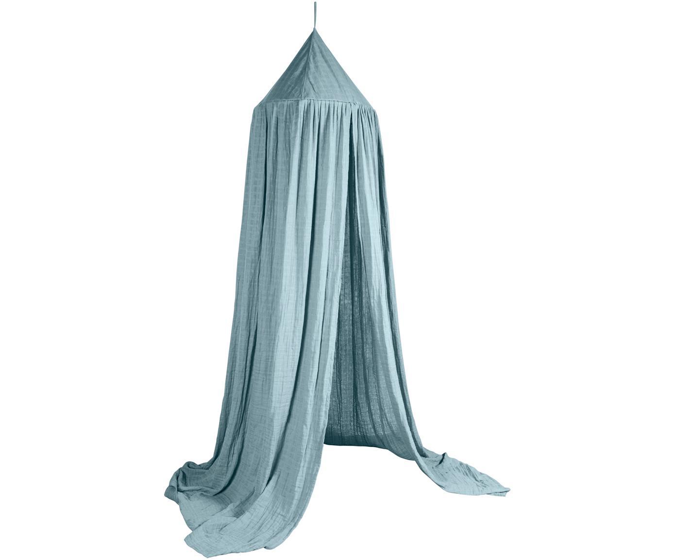 Dosel para cama Stars, Funda: algodón, Azul, Ø 52 x Al 240 cm
