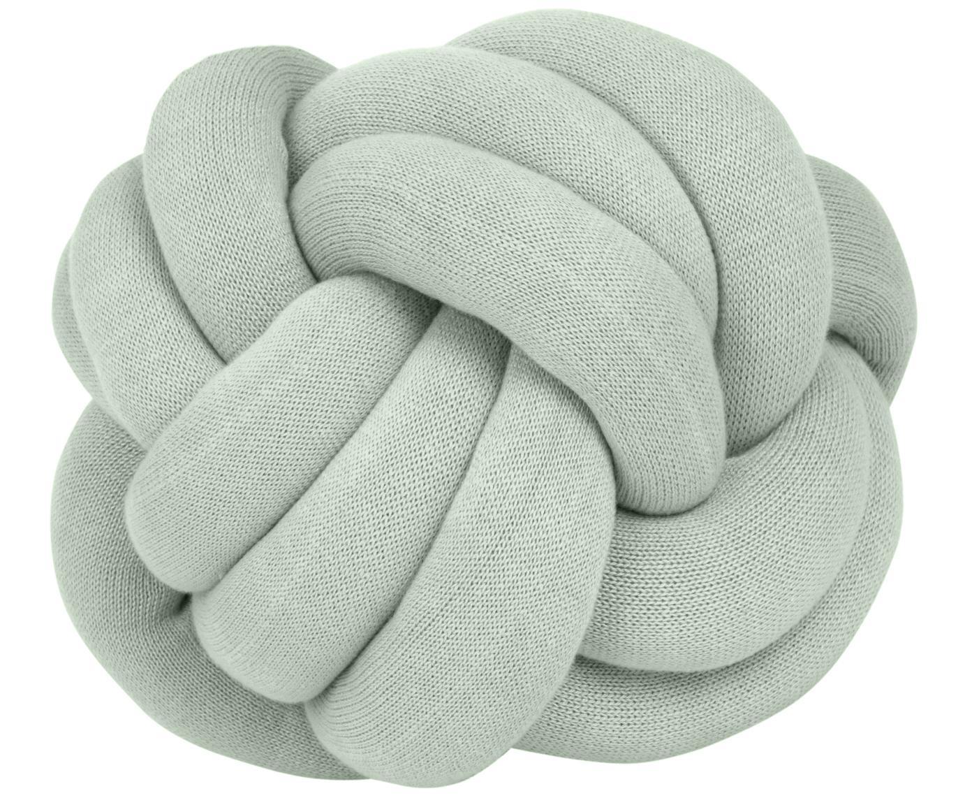 Poduszka Twist, Zielony miętowy, Ø 30 cm