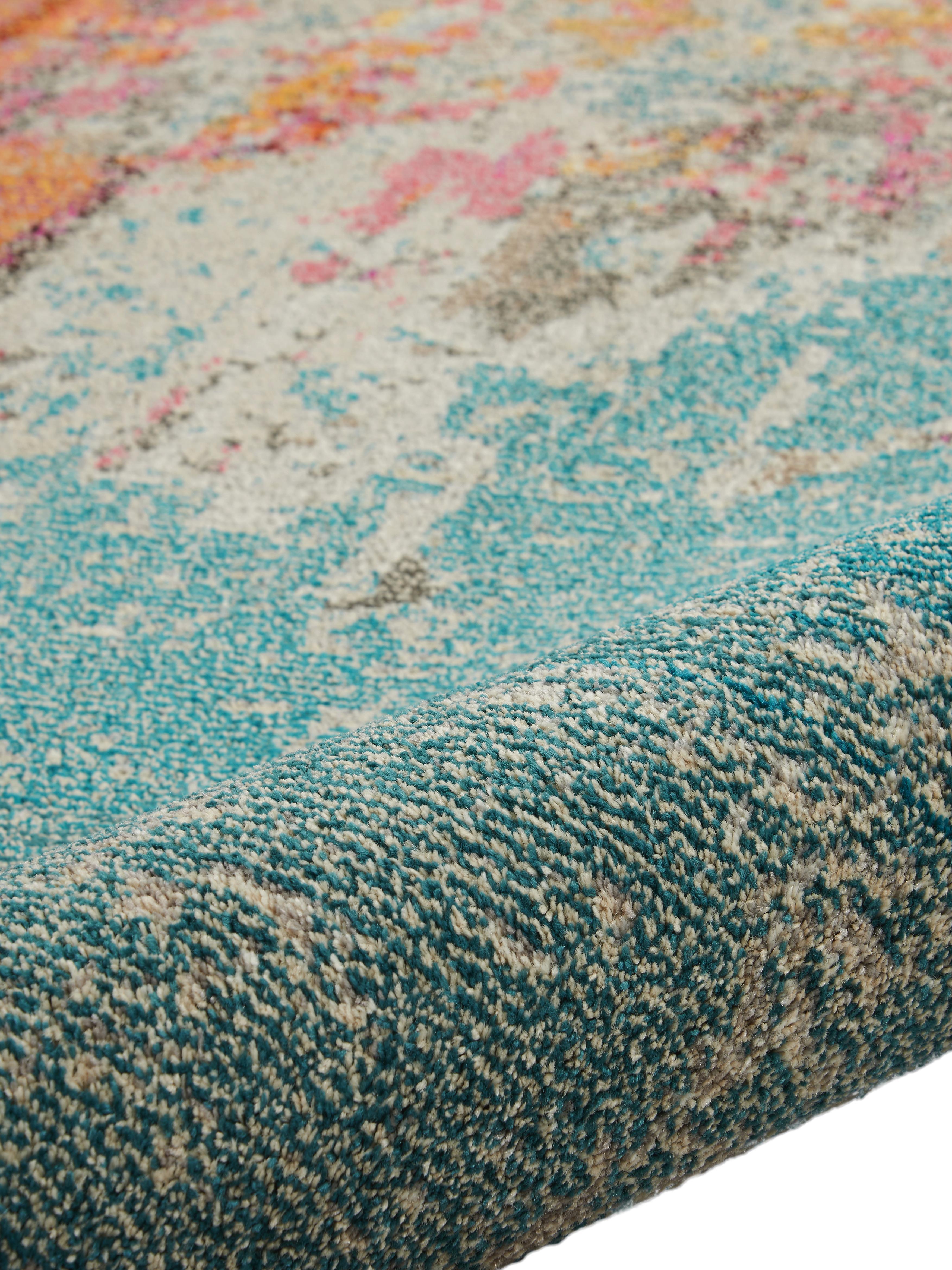 Design vloerkleed Celestial in kleur, Bovenzijde: 100% polypropyleen, Onderzijde: jute, Multicolour, B 120 x L 180 cm (Maat S)